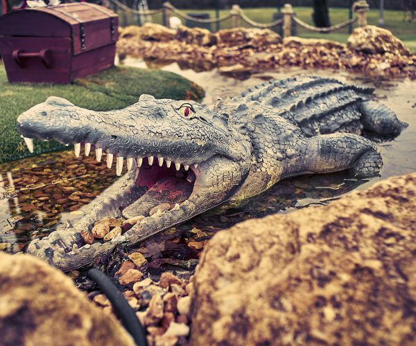adventure golf crocodile